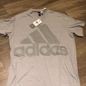 Men's Adidas Basic Logo Tee - XL